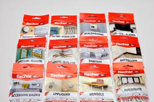 Kit di fissaggio pronti all 39 uso fischer bricoportale il for Kit inferriate fischer