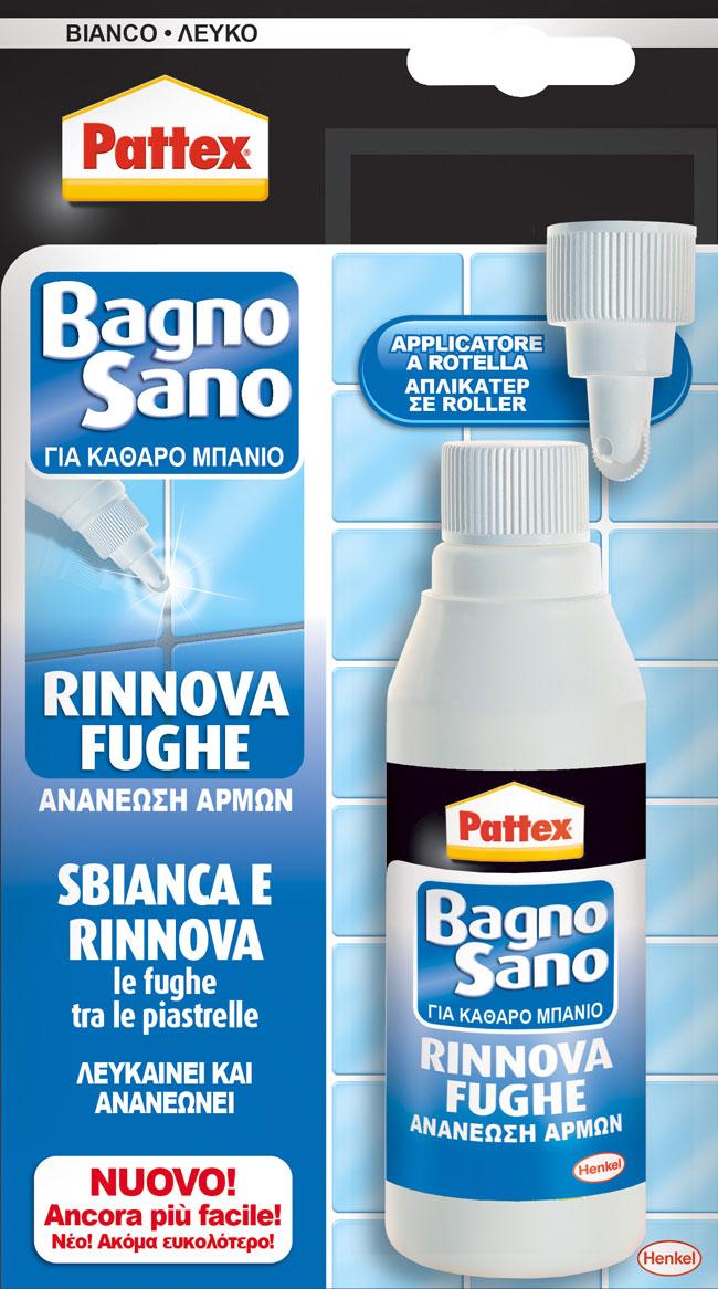 Pattex bagno sano rinnova fughe henkel bricoportale il - Sbiancare fughe piastrelle ...