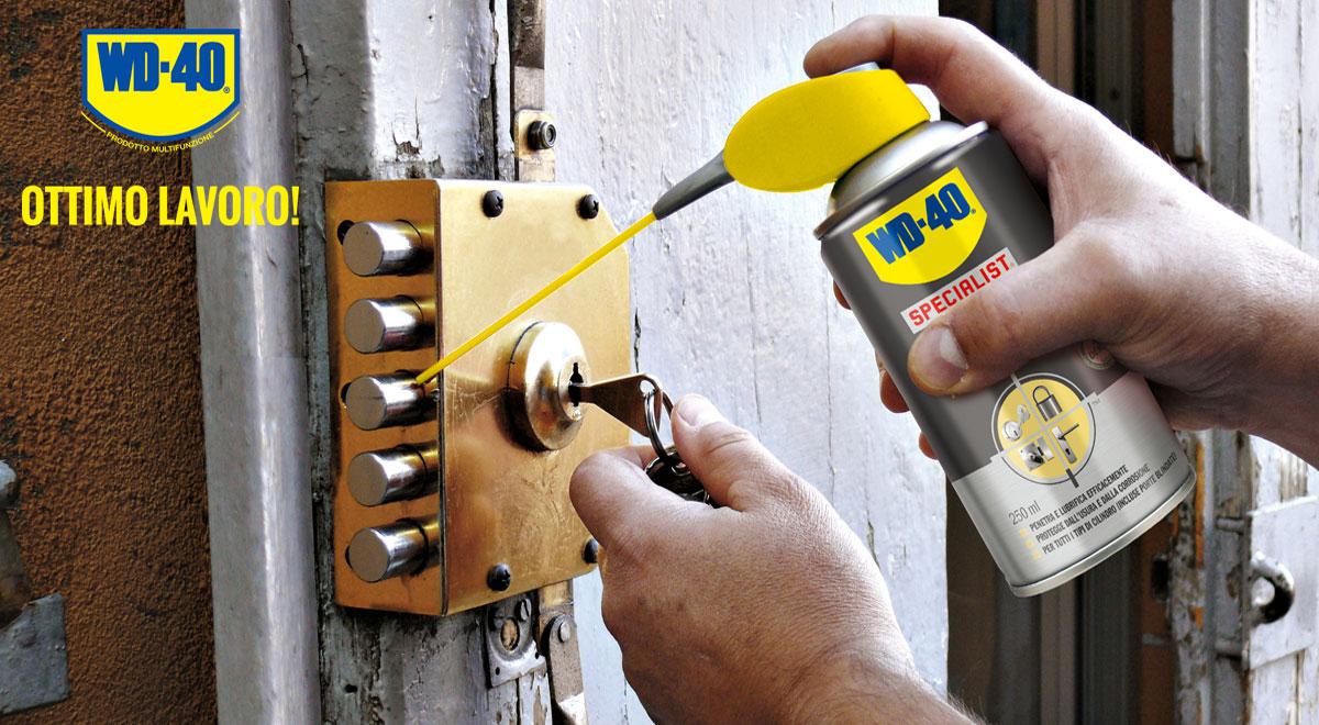 Lubrificante serrature