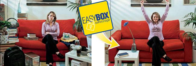 stoccaggio fai da te, easy box, easybox selfstorage
