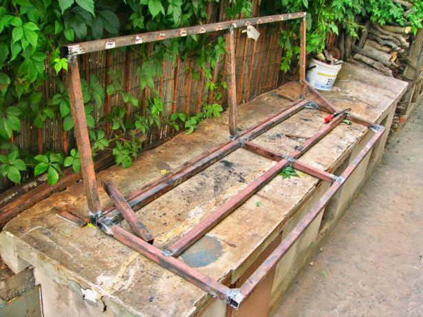 Dondolo per 4 bricoportale fai da te e bricolage - Costruire sedia a dondolo ...
