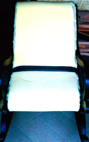 Sedia dondolo bricoportale fai da te e bricolage - Costruire sedia a dondolo ...