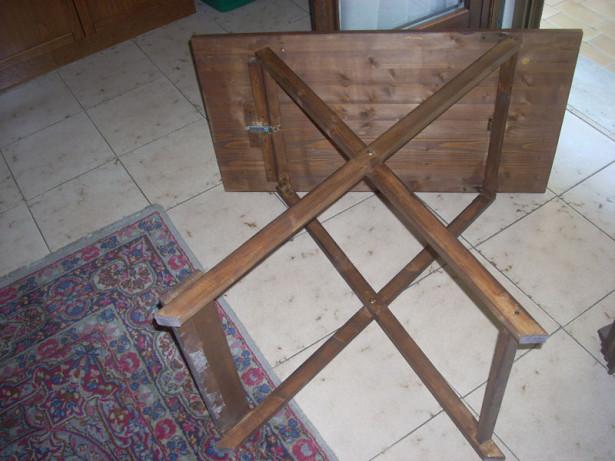 Tavolo prolunga richiudibile bricoportale fai da te e bricolage - Costruire un tavolo richiudibile ...