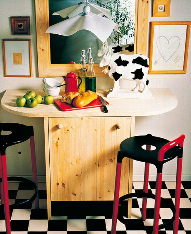 Frigorifero e tavolo insieme bricoportale fai da te e bricolage - Tavolo cucina fai da te ...