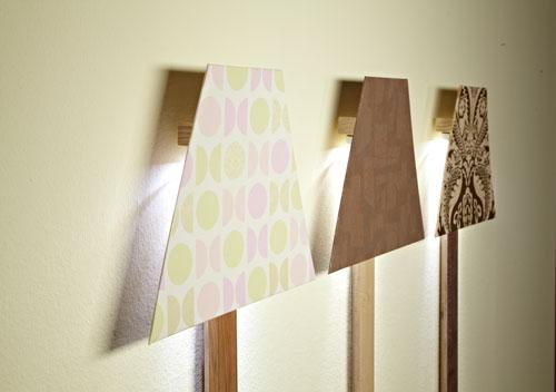 Plafoniere Da Parete In Legno : Lampade a parete fai da te bricoportale e bricolage