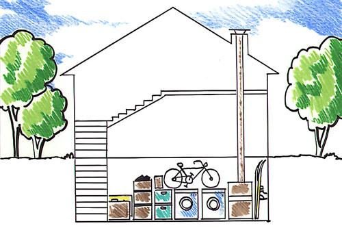 Locali interrati prefabbricati da usare come cantine e garage