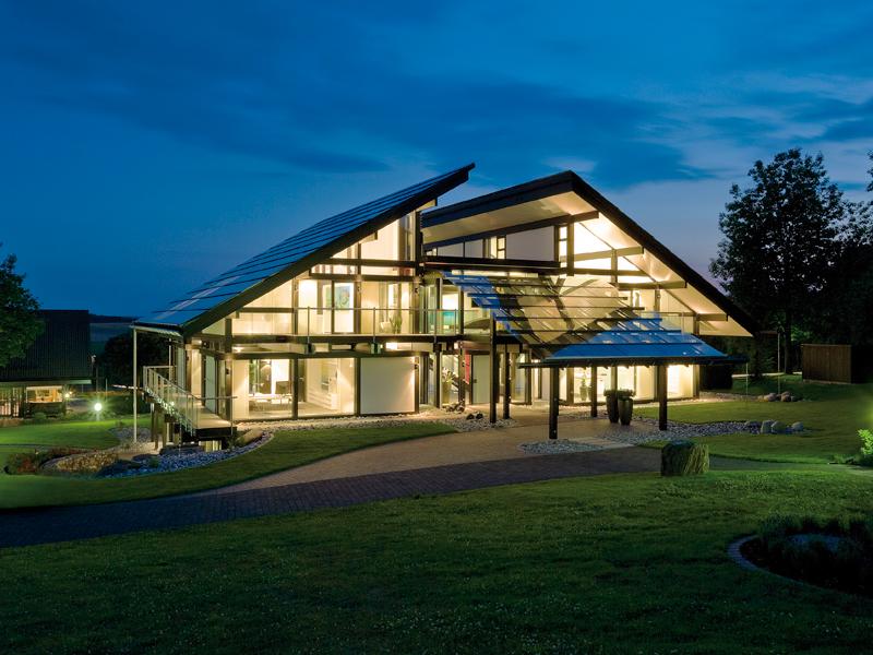 fachwerkhaus casa domotica ed ecosostenibile