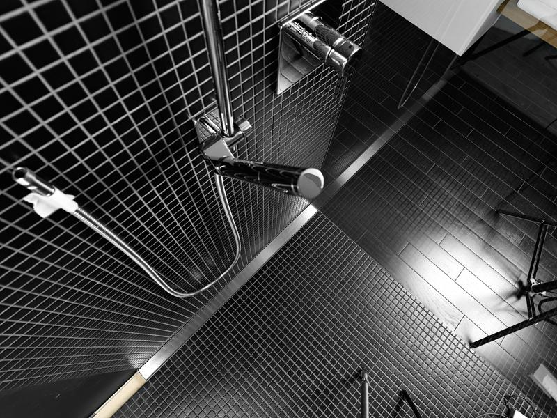 Doccia filo pavimento  Soluzioni e idee - Bricoportale: Fai da te e bricolage