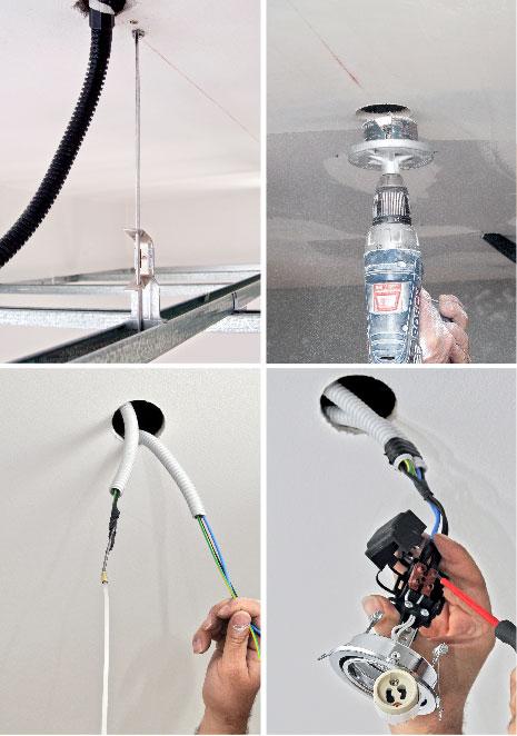 i diversi tipi di luci incassate - faretti e segmenti