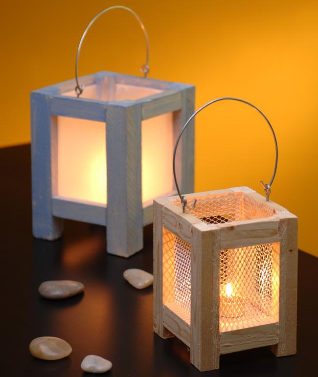 Costruire una lanterna d 39 arredo bricoportale fai da te for Lanterne da interno