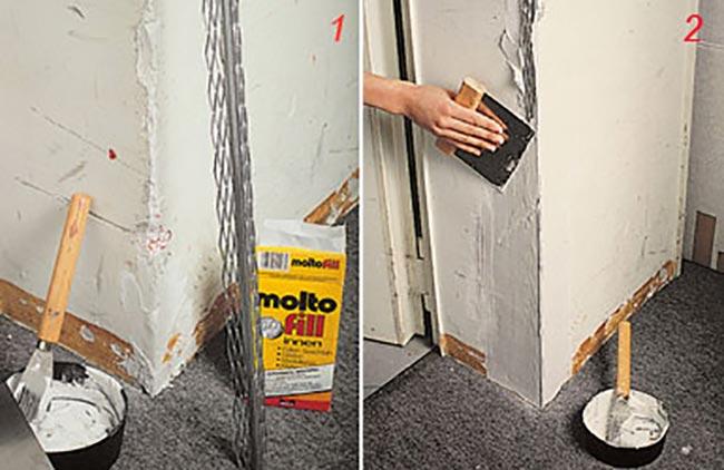 Paraspigoli per muro come si scelgono e come si installano - Angolari per piastrelle ...