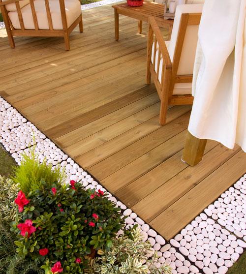 pavimentazione esterna in legno bricoportale fai da te