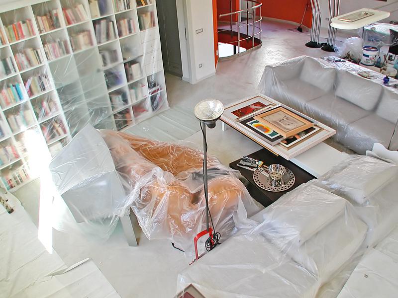 Protezioni per la tinteggiatura bricoportale fai da te - Imbiancare casa fai da te ...