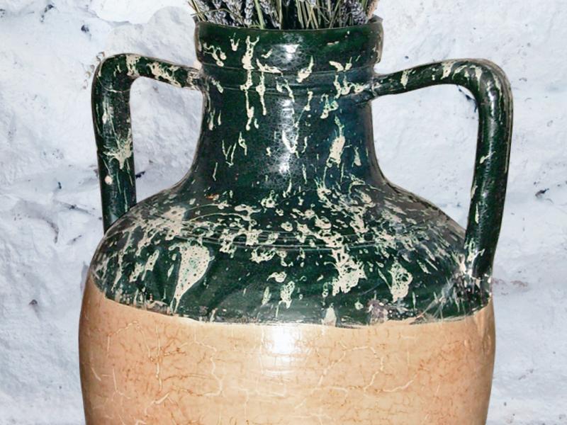 Riparare una giara crepata bricoportale fai da te e - Giare da giardino ...