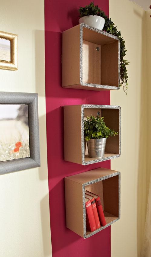 Mensole di cartone ondulato bricoportale fai da te e - Bricolage fai da te idee ...