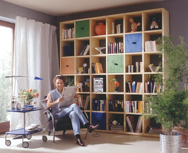Costruire Libreria A Muro.Libreria A Moduli Bricoportale Fai Da Te E Bricolage