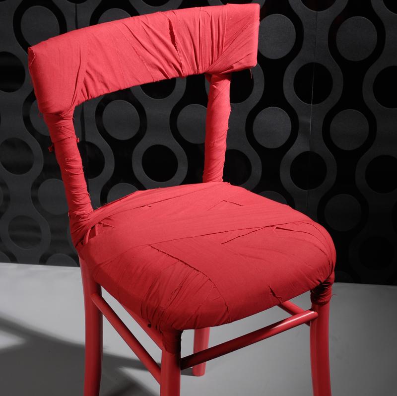 Fai da te mummy la sedia di design di peter traag - Tappezzare una sedia ...