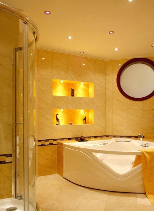 Le luci incassate nei pavimenti e nelle scale bricoportale fai da te e bricolage - Luci per bagno ...