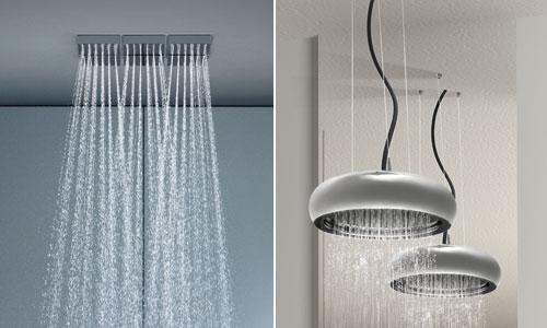 Moderni soffioni per doccia bricoportale fai da te e bricolage - Soffione doccia a soffitto ...