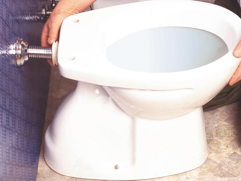 Sostituire il WC