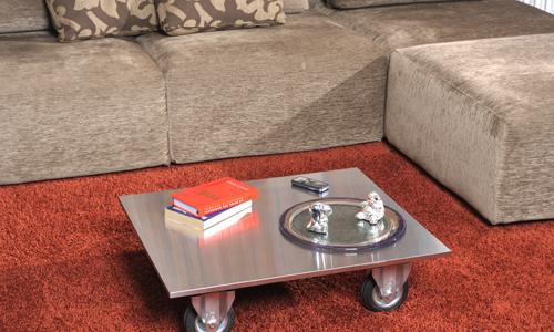 Tavolino Da Salotto Con Rotelle.Tavolo Inox Con Ruote Bricoportale Fai Da Te E Bricolage
