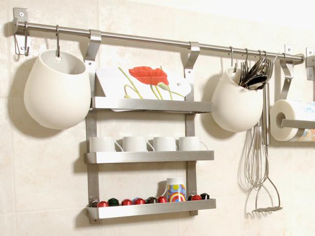 Contenitori da parete | Come si installano quelli di Ikea