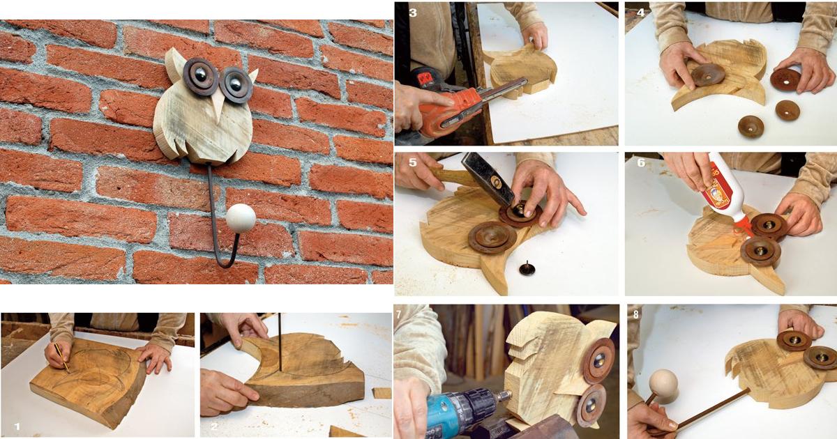 Appendini di legno fai da te bricoportale fai da te e for Coprilavatrice legno fai da te