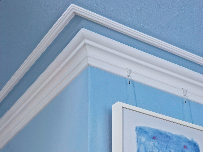 Bordini decorativi di gesso e polistirolo bricoportale - Stucchi decorativi per pareti ...