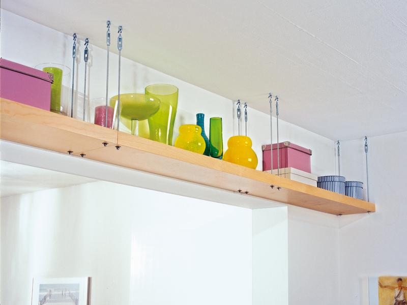 Mensole sospese soffitto profilati alluminio - Mensola cucina ikea ...