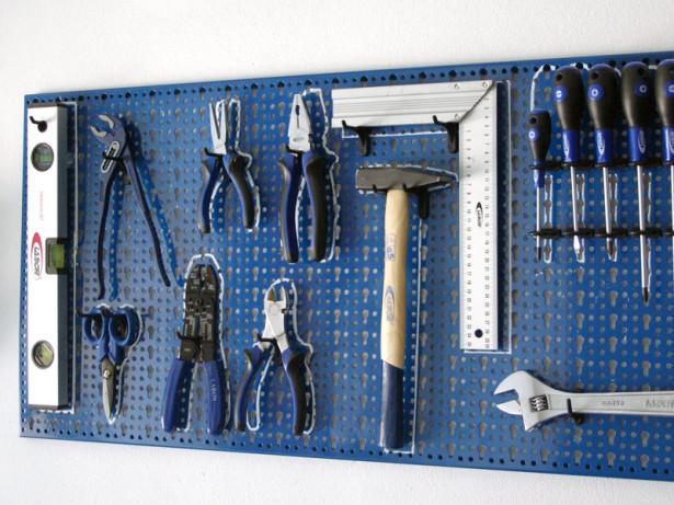 Pannello porta utensili