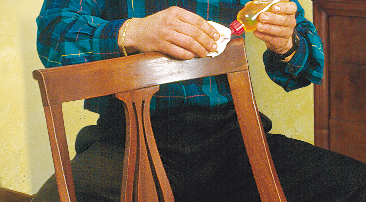 Restaurare una sedia bricoportale fai da te e bricolage - Restaurare mobili fai da te ...