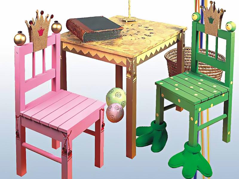 Sedie Decorate Fai Da Te : Seggioline decorate bricoportale: fai da te e bricolage