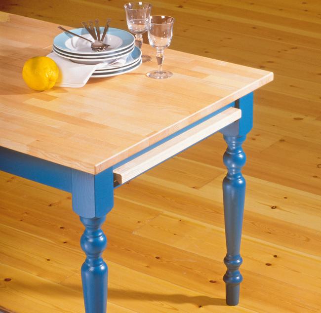Come costruire un tavolo bricoportale fai da te e bricolage - Costruire un tavolo allungabile ...
