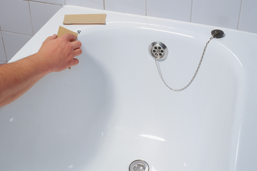 Vasca Da Bagno Scheggiata : Rivestimento vasca da bagno come intervenire bricoportale fai