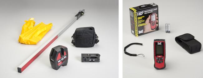 Tracciatore laser e Misuratore laser Spektra