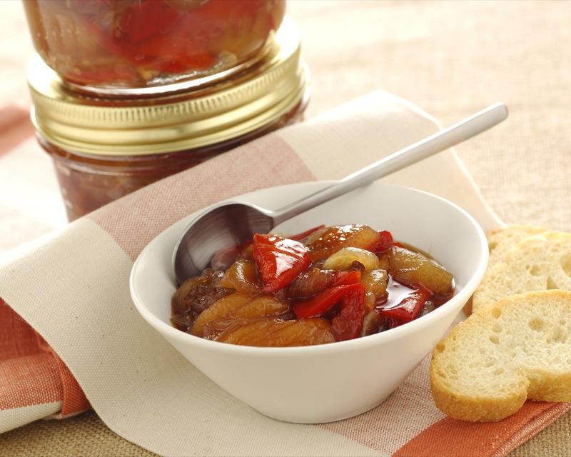 ricetta conserva peperoni albicocche