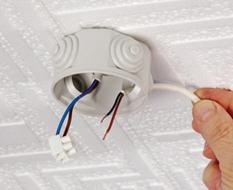 lampadario a sospensione collegamento