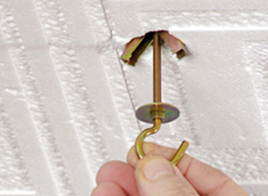 lampadario a sospensione inserisce tasssello