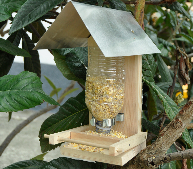 Ben noto Mangiatoia per uccelli in kit - Bricoportale: Fai da te e bricolage EF85