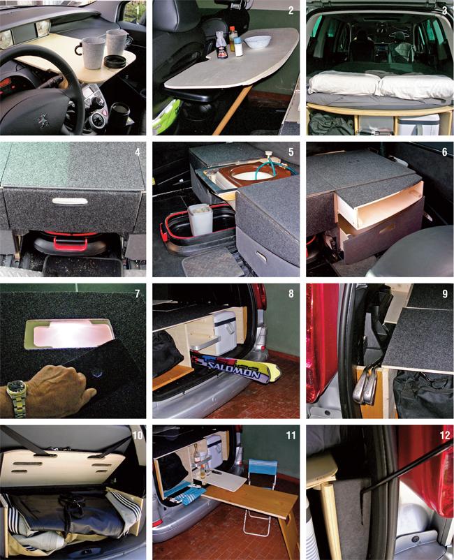 accessori camper auto