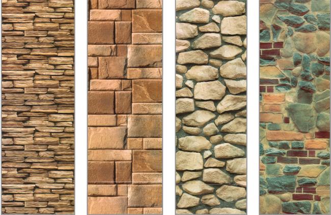 Pannelli decorativi finta pietra