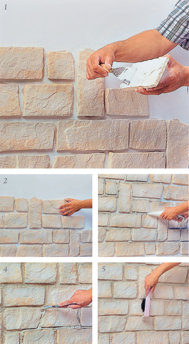 Pannelli finta pietra come sceglierli e come installarli for Mattonelle finte per cucina