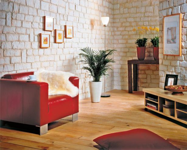 Rivestire le pareti categoria bricoportale il portale for Pannelli in gesso finta pietra