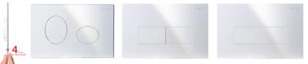 Placche Pucciplast, le più sottili, solo 4,7 mm