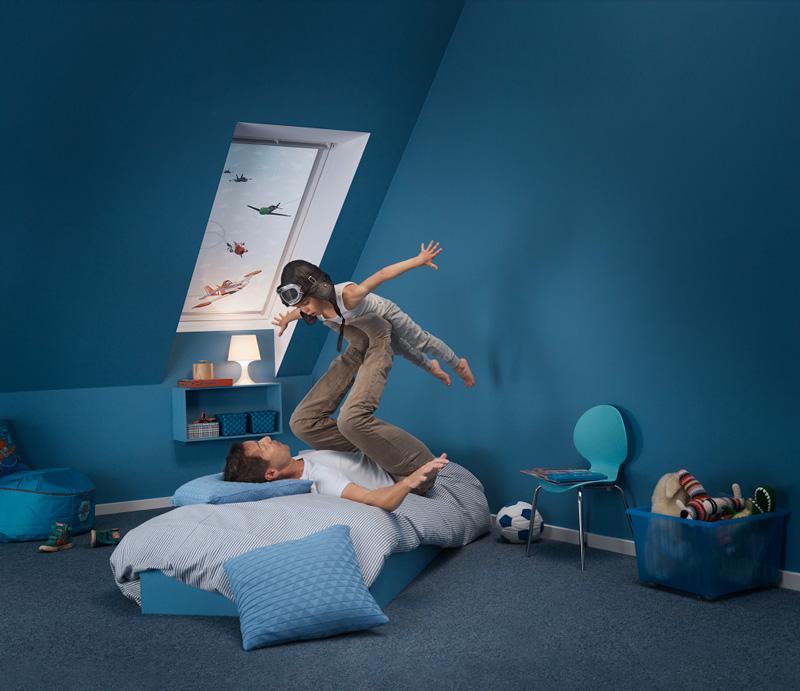 Disney velux dream collection dove i sogni prendono il for Oscuranti per finestre velux