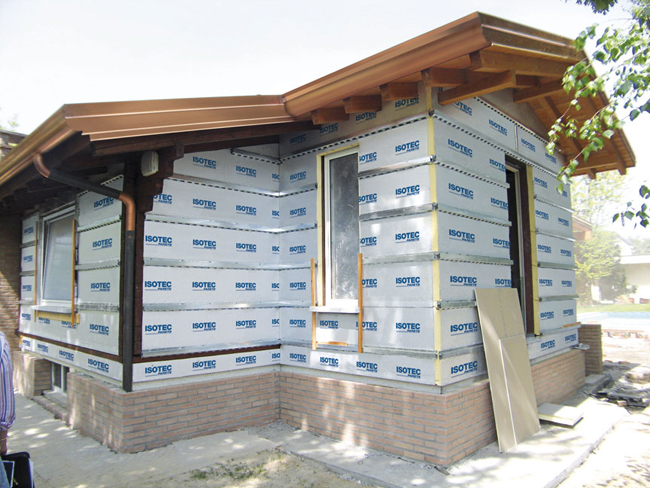 Cappotto termico esterno bricoportale fai da te e bricolage - Cappotto esterno casa ...