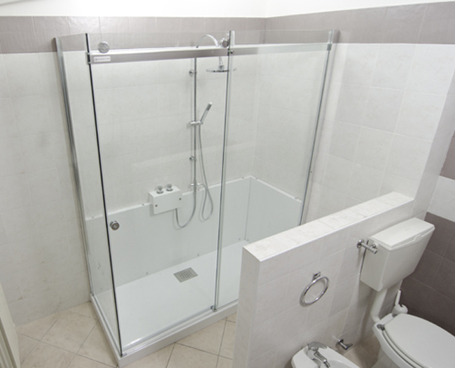 Da vasca a doccia con grandform bricoportale fai da te for Bricoportale