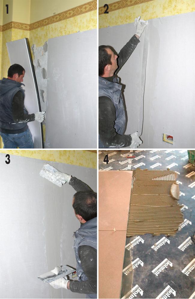 Insonorizzare pavimento fai da te installazione - Insonorizzare casa ...