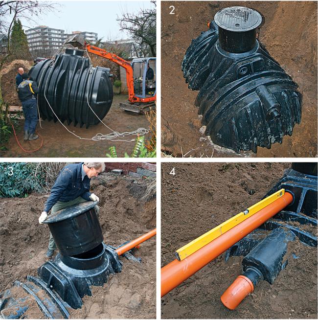 installazione cisterna