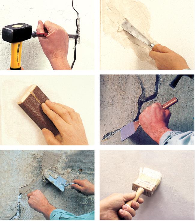 stuccatura muro